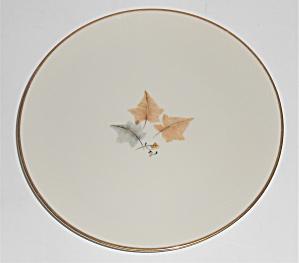 Ohata Japan China Porcelain Topaze Salad Plate w/Gold (Image1)