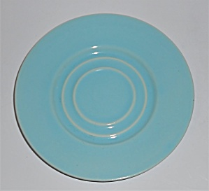 Pacific Pottery Hostess Ware Lt Blue Saucer