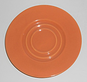 Pacific Pottery Hostess Ware Apricot Saucer