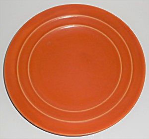 Pacific Pottery Hostess Ware Apache Red 9-3/8'' Plate