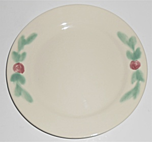 Coors Pottery Rosebud White/ivory 7'' Plate #2