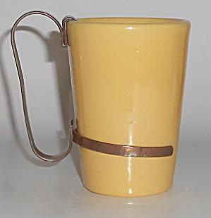 Catalina Island Pottery Yellow Tumbler w/Handle (Image1)