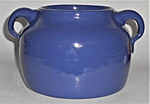 Bauer Pottery Plain Ware Cobalt 2-quart Bean Pot