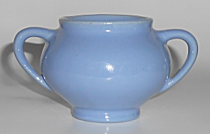 Bauer Pottery Plain Ware Delph Demitasse Sugar Bowl