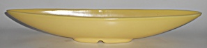 Bauer Pottery Tracy Irwin Matte Yellow #520 Boat Bowl