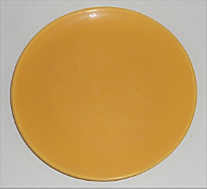 Catalina Island Pottery Yellow 7'' Coupe Plate (Image1)