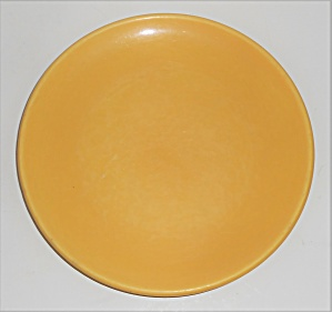 Catalina Island Pottery Yellow 7'' Coupe Plate #2 (Image1)