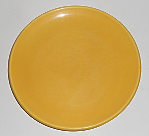 Catalina Island Pottery Yellow 7'' Coupe Plate #3 (Image1)