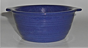 Pacific Pottery Hostess Ware Cobalt / Sapphire Tab Hand