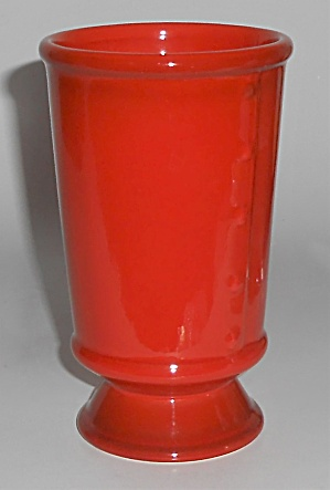 Metlox Poppy Trail Pottery Red Rooster 10 Oz Tumbler
