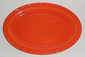 Vernon Kilns Pottery Coronado Orange Platter (Image1)