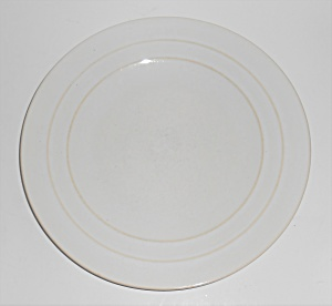 Pacific Pottery Hostess Ware Gloss White Service Plate