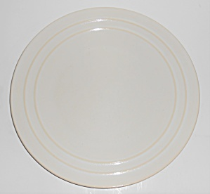 Pacific Pottery Hostess Ware Gloss White Dinner Plate