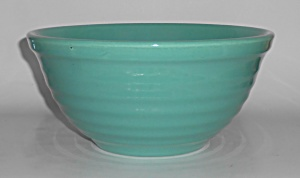 Vintage Bauer Pottery Ring Ware Jade #12 Mixing Bowl