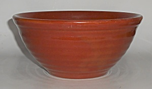 Vintage Bauer Pottery Ring Ware Red/brown #18 Mixing