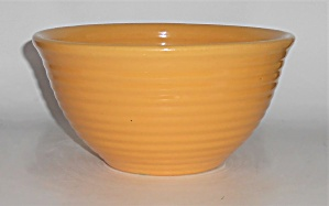 Vintage Bauer Pottery Ring Ware Yellow #24 Mixing Bowl