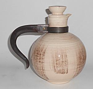 Vernon Kilns Pottery Barkwood Carafe w/Cap (Image1)