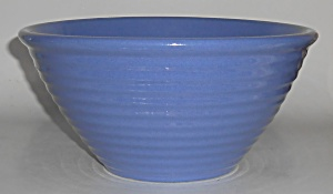 Garden City Pottery Ring Blue Mixing Bowl (Image1)