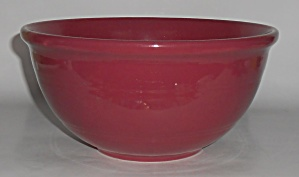 Coors Pottery Rosebud Red 9.25'' Mixing Bowl Robert Sch