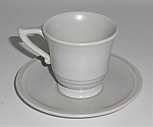 Franciscan Pottery Montecito Satin Grey Demitasse Cup/s