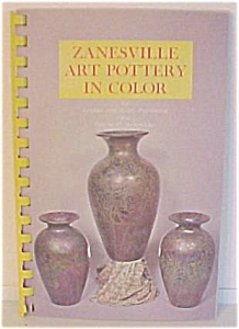 Zanesville Art Pottery In Color 1968 Book (Image1)