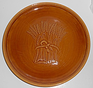 Franciscan Pottery Wheat Harvest Brown Dinner Plate