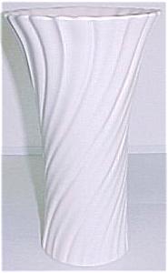 "Franciscan Pottery 9-3/4"" Ivory Art Ware Vase (Image1)"