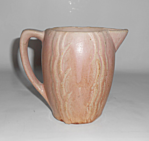McCOY POTTERY EARLY PITCHER-GREAT GLAZE! (Image1)