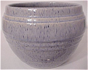 Pacific Pottery Banded Blue Drip 7 Jardiniere
