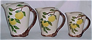 "ORCHARD WARE ORANGE BLOSSOM 6.5"" PITCHER! (Image1)"