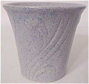 "Pacific Pottery Art Deco 3.5"" Blue Flowerpot"