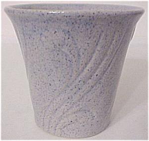"""PACIFIC POTTERY ART DECO 3.5"""" BLUE FLOWERPOT (Image1)"""