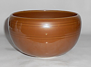 Coors Pottery Thermo Porcelain Brown Medium Pudding Bwl (Image1)