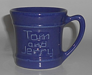 Pacific Pottery Hostess Ware Cobalt Tom & Jerry Mug (Image1)