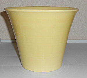Franciscan Pottery Tropico Art Ware Yellow 6 Flower Pot