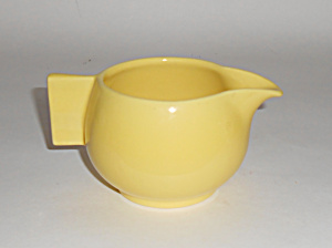 Franciscan Pottery Sperry Flour Company Yellow Creamer
