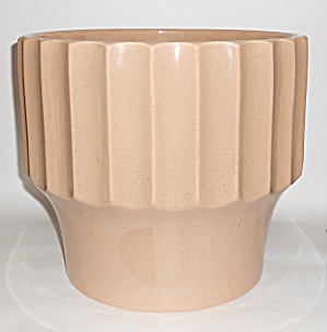 Bauer Pottery 10in Tan Speckle Biltmore Flower Pot