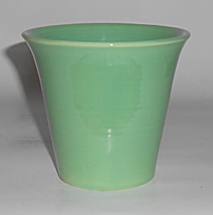 Franciscan Pottery Tropico Green Flower Pot Mint