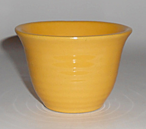 Bauer Pottery Ring Ware Yellow Custard Cup Mint (Image1)