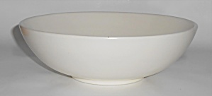 Franciscan Pottery El Patio Satin Ivory Vegetable Bowl