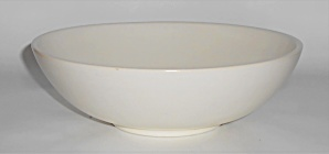 Franciscan Pottery El Patio Satin Ivory Vegetable Bowl (Image1)