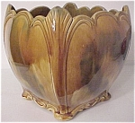Click to view larger image of STOCKTON ART POTTERY LARGE SQUARE JARDINIERE (Image1)