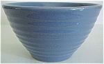 Click here to enlarge image and see more about item 11254: Garden City Pottery #30 Blue Ring Mixing Bowl