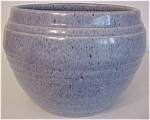 PACIFIC POTTERY EARLY BLUE DRIP JARDINIERE!