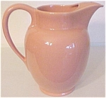 FRANCISCAN POTTERY EL PATIO CORAL WATER PITCHER!