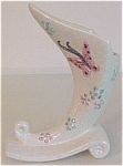 Click to view larger image of HULL POTTERY BUTTERFLY B2 CORNUCOPIA VASE! (Image1)