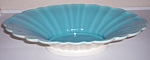 CATALINA POTTERY AURORA ART WARE FLUTED CONSOLE BOWL!