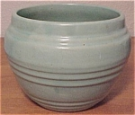 "PACIFIC POTTERY ART DECO 5"" GREEN FLOWERPOT!"