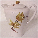 CALIFORNIA CERAMICS ORCHARD WARE TIGER LILY COFFEEPOT!