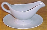 FRANCISCAN POTTERY EL PATIO GREY FAST STAND GRAVY!